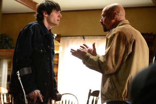 """The relationship between Walt and his son forms the primary foundation at the  heart of """"Breaking Bad."""""""