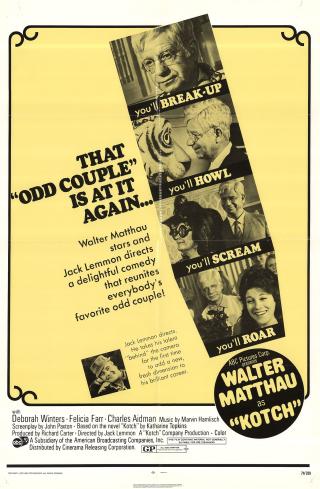 KOTCH 1971 movie poster